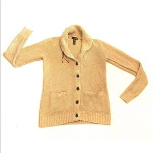 Lauren Jeans Company Cardigan Knit Sweater